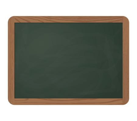 green chalkboard: empty green chalkboard Illustration