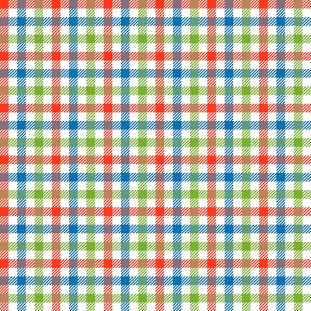 blue blanket: seamless checkered table cloths pattern with three colors