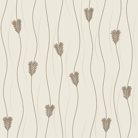 continuously: Seamless vertical growing grass background in brown colors