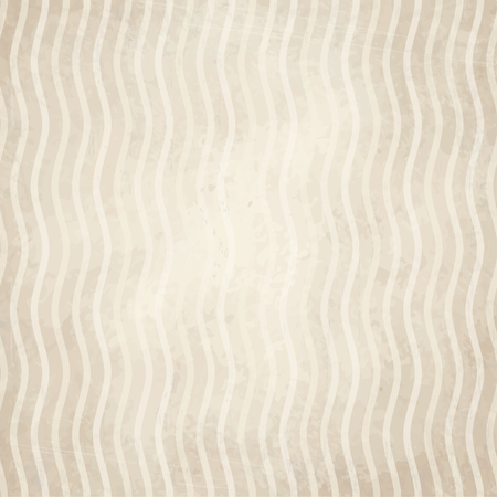 vector of old vintage paper background with waves
