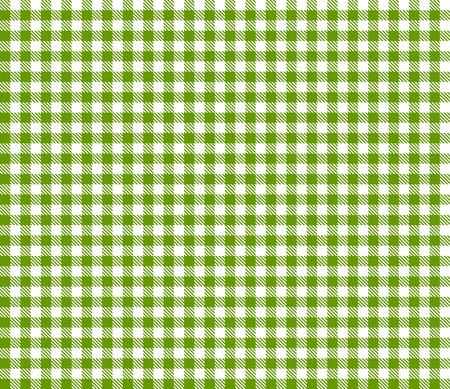 Checkered tablecloths pattern GREEN - endless