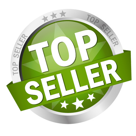 recommended: vector of colored button isolated TOP SELLER Illustration