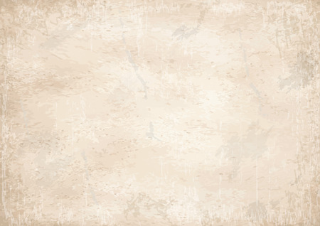 soiled: vector of old vintage yellowed paper background