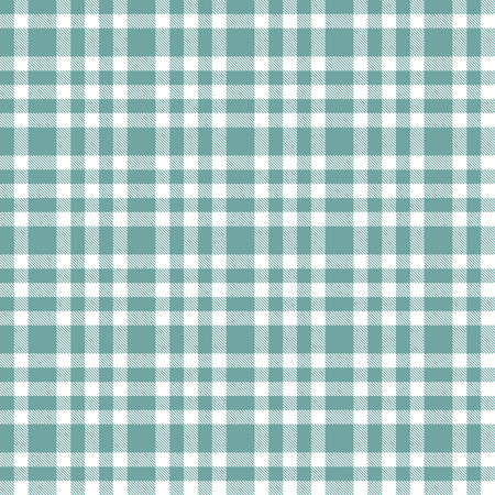 christmas plaid: checkered seamless table cloths pattern blue colored Illustration