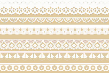 festoons: big collection seamless tissue ribbons - festoons