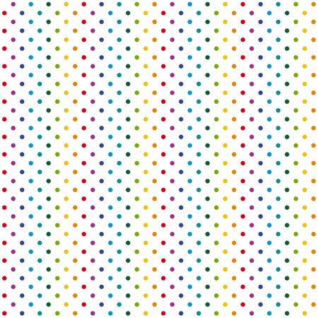 colorfully: seamless abstract pattern background with colored dots Illustration
