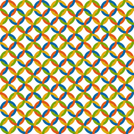 colorfully: abstract seamless background with multi colored circles Illustration