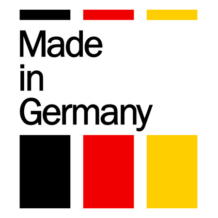 seal of quality - MADE IN GERMANY 向量圖像