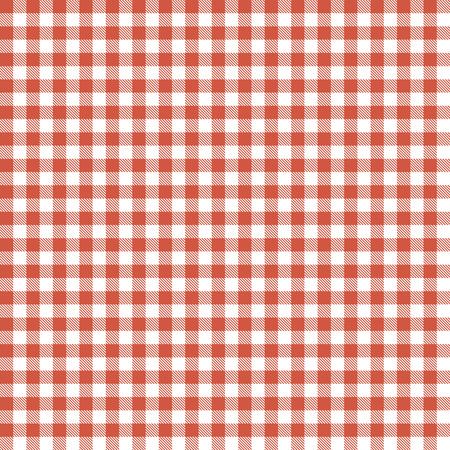Karierten Tischdecken nahtlose Muster rot gefärbt Standard-Bild - 36421885