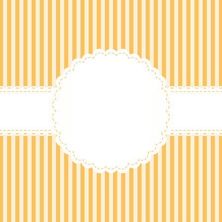banderole: background with lined pattern and empty white banner