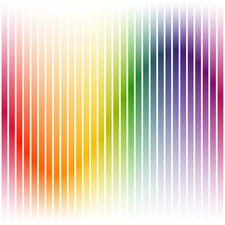 colorfully: endless background with colorful stripes on white Illustration