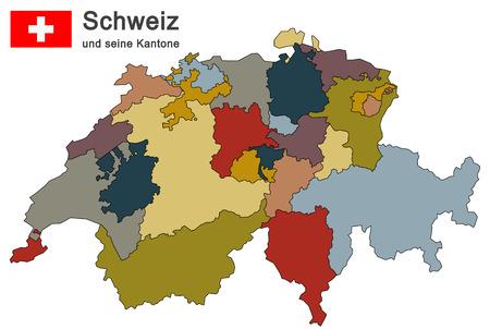 Kaart Zwitserland Foto S Afbeeldingen En Stock Fotografie 123rf
