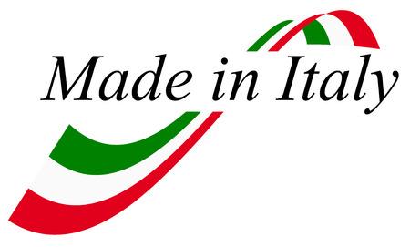 bandera italiana: sello de calidad - MADE IN ITALY