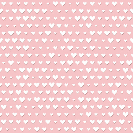 seamless background with hearts for valentines day