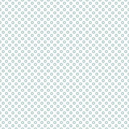 geometrically: abstract background with seamless blue circles pattern Illustration