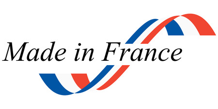 seal of quality - MADE IN FRANCE Vector