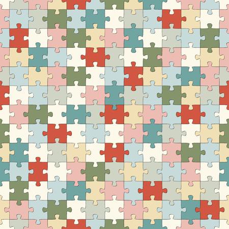 colores pastel: rompecabezas de fondo sin fisuras con diferentes colores pastel