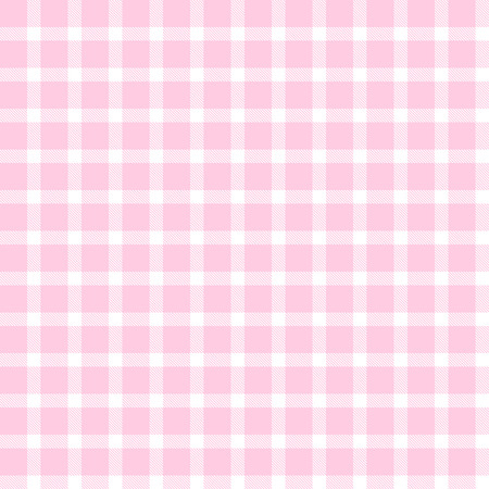 cloths: checkered seamless table cloths pattern pink colored Illustration