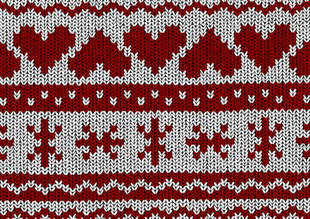 christmas backgrounds: christmas seamless vector backgrounds