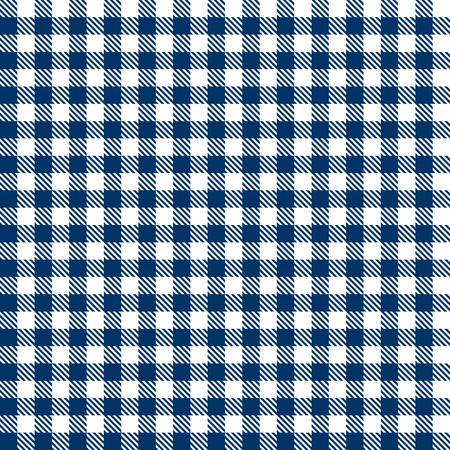 endlos: Karierten Tischdecken-Muster BLUE Endlessly