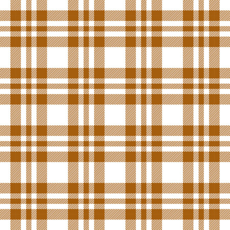 cloths: brown checkered table cloths pattern seamless vector Illustration
