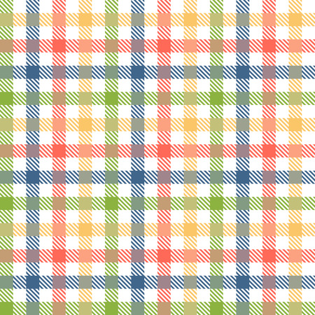 christmas cover: seamless checkered table cloth background with different colors