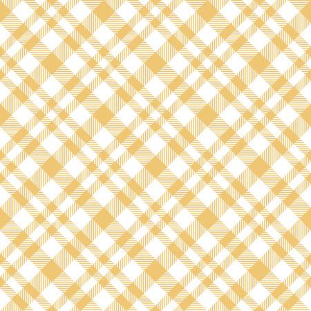 tela blanca: vector de color de fondo a cuadros tela de mesa sin fisuras