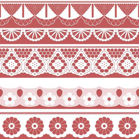 festones: Gran colecci�n de cintas de tejido sin costuras - festones