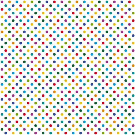 sylvester: abstract seamless background with dots in different colors