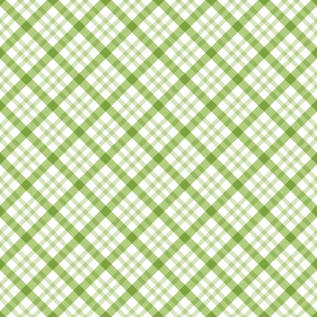 country kitchen: abstract vintage checkered table cloth background colored green