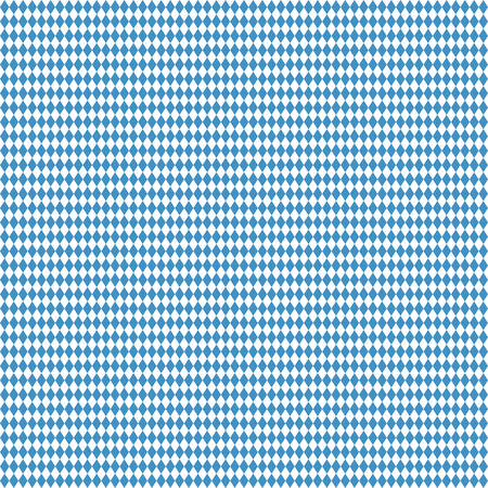beer garden: Oktoberfest background with seamless blue white checkered pattern