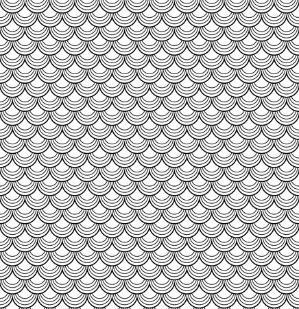 sheer: abstract background with colored tiles black and white Illustration