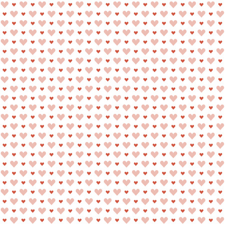 community recognition: seamless background with hearts for valentines day