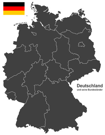 federal republic of germany: european country germany and the federal states
