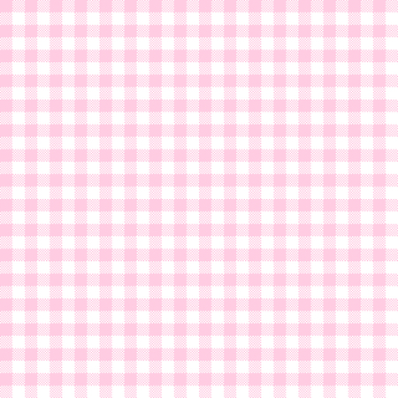 vintage checkered table cloth background colored pink Illustration