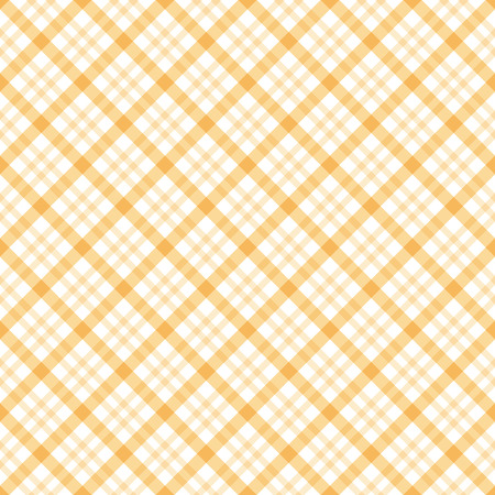 abstract vintage checkered table cloth background colored yellow