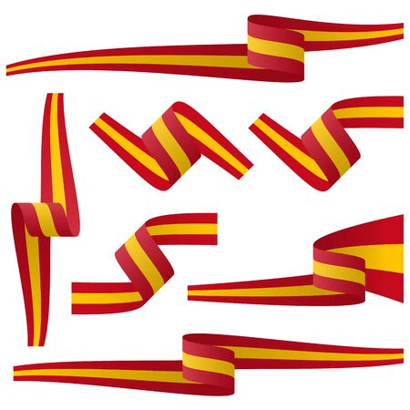 made in spain: collection - spanish country flag banners