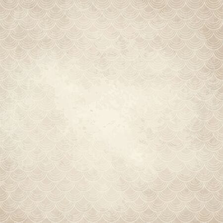 beige background: vector of old vintage paper background with