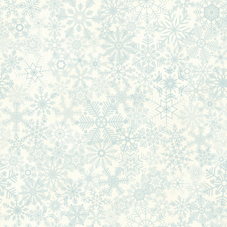 christmas time: vector of seamless abstract snow flakes background for christmas time Illustration