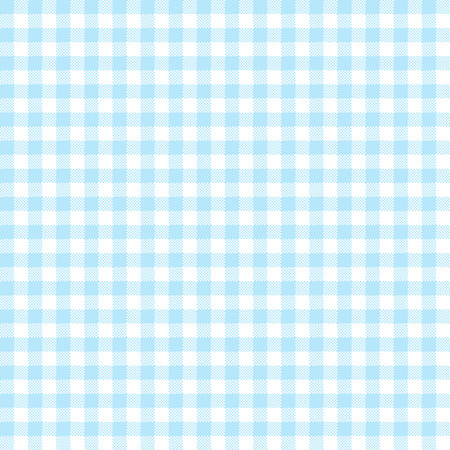vintage checkered table cloth background colored light blue