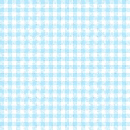 Vintage-karierte Tischdecke Hintergrund hellblau gefärbt Illustration