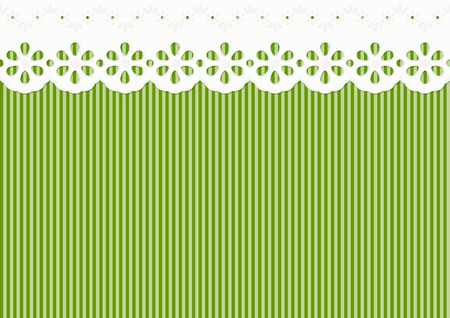 festoon decoration on lined pattern - seamless