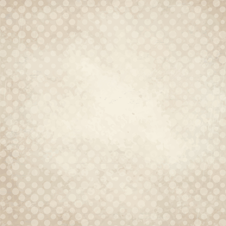 soiled: vector of old vintage paper background with points
