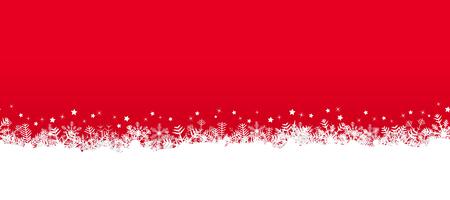 Blancs flocons de neige sans soudure sur le côté fond et fond coloré Banque d'images - 47745192