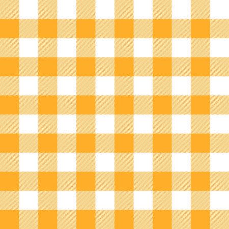 conventional: seamless checkered table cloth background colored yellow Illustration