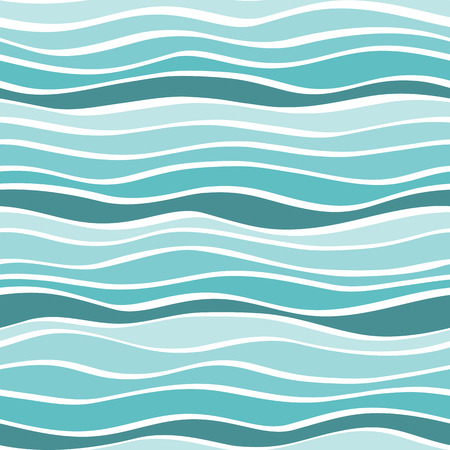 swell: seamless multi colored background with horizontal waves