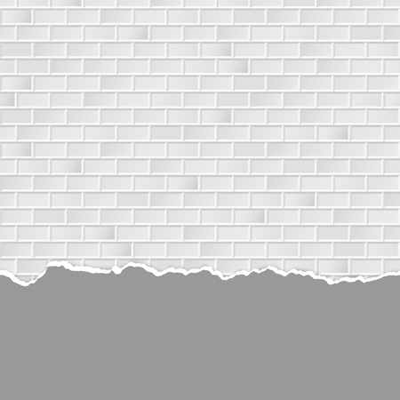 broken wall: seamless colored stone wall background with broken plaster