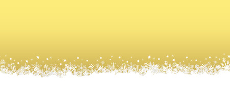 festively: white seamless snow flakes on bottom side and colored background