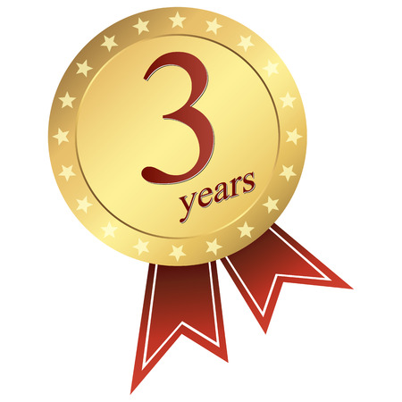 gold jubilee button 3 years