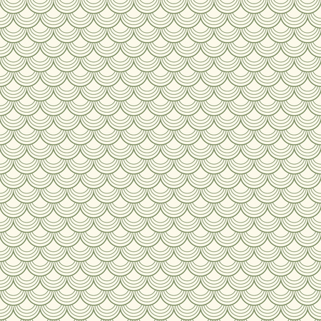 billow: abstract vector background of seamless green colored tiles